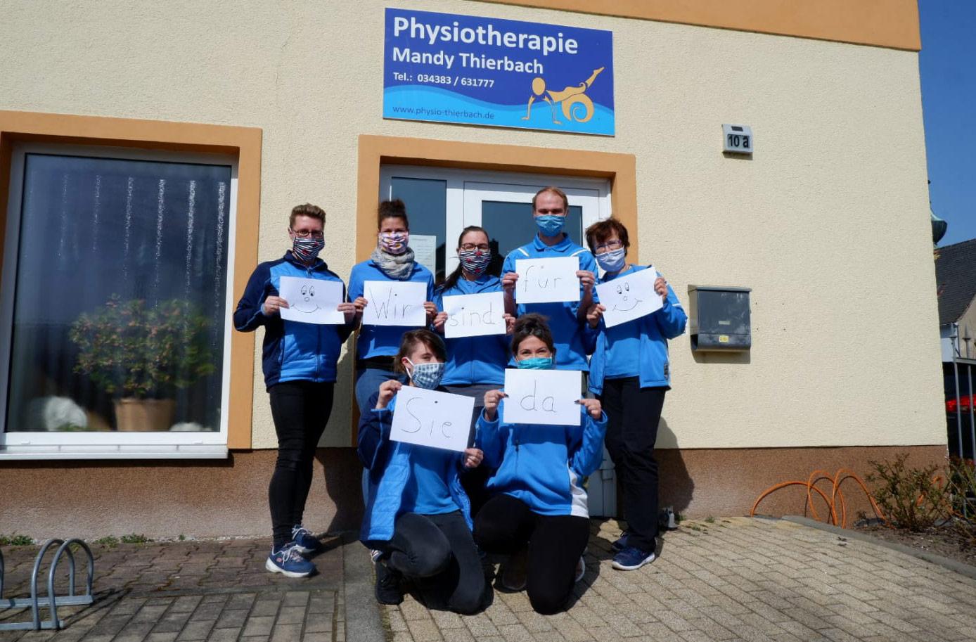 Physiotherapie Mandy Thierbach Leipzig und Trebsen